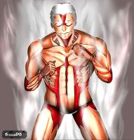 armored titan (with speed paint video) by sissadDS