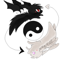 Yin Angel Yang by Nixhil