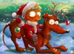 Santa's Little Helpers by 0-B