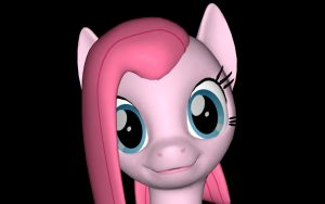 Pinkamena Smile by TheDandyScout900