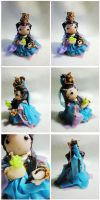 Qin Juexian-polymer clay Pili by BX211