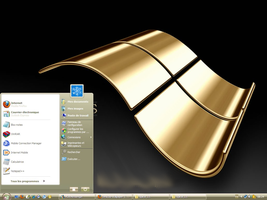 A Gold style for windows XP by bir7-com