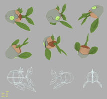 Leafish Low Poly Model by Pseudolonewolf