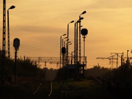 Train lines by kubica