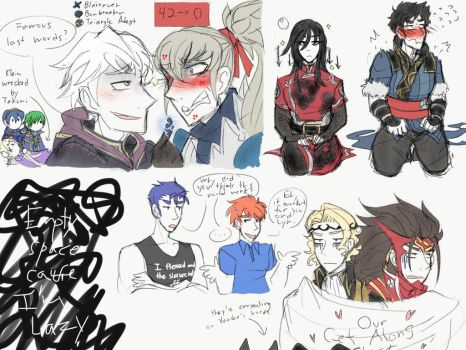 Fire Emblem: My Annoying Teammate by PsiioniicHearts