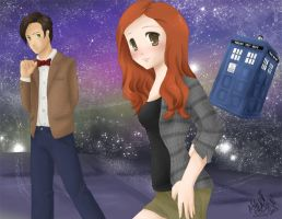 Doctor Who by Emikova