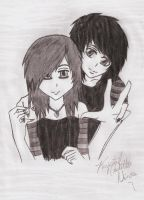 Me and Ren by Amaya6695