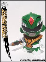 Green Ranger Munny 2 by F1shcustoms
