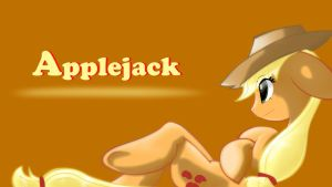 Applejack. 25% shade opacity. by Animeculture
