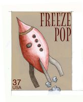 Stamps - 03 Freezepop. by princepoo