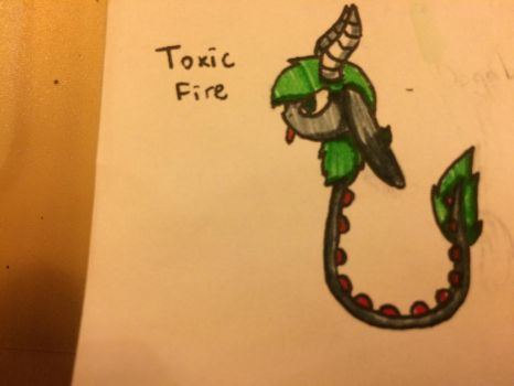 Toxic Fire Reference Sheet by CookiesAndCreamMC