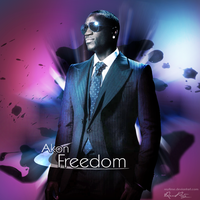 """"""" Freedom """" - Akon CD Cover by reytime"""