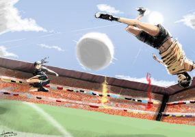Shaolin Soccer by faustsketcher