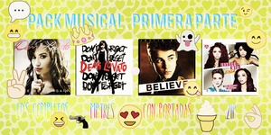 Pack Musical Primera Parte by ValeZapata
