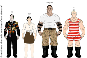Character Height Chart by Smoppet