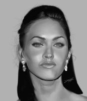 Megan Fox WIP by x22