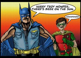 Rowsdower and the Troy Wonder by sagejester