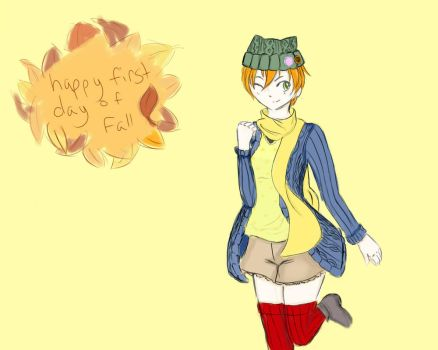 Happy First Day of Fall! by Nek0Hana
