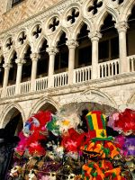 Venice - Masks and Palace by AgiVega