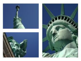 Statue Triptych by r51