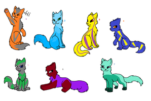 Cat adopts by Honey-PawStep