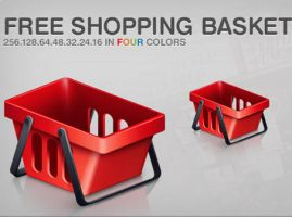 Free Shopping Basket by FreeIconsFinder