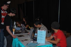 Johnny Young Bosch signing by summerjasmine