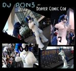 DJ Pon3 at Denver Comic Con! by sophiecabra