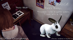 LiS - Kate's Bunny (Poseable) by angelic-noir