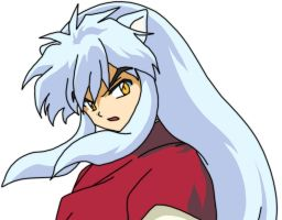 Inuyasha Shoulder Look by DisturbingThePublic
