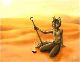 """I am a desert creature.& by spiritwolf77"
