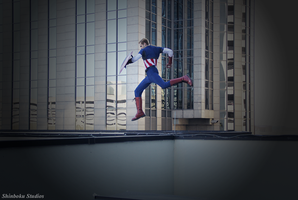 Leap of faith [Captain America] by RisingParadise