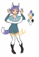 Adopts::  Snow wolf lady (CLOSED) by Tobi1313