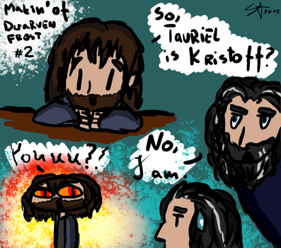 Makin' of/Dwarven Frost/ #2 by lessey-chan