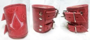 Assassin's Creed Bracer - Pink / Red / White by deadlanceSteamworks