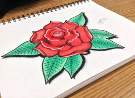 Traditional Rose  (Updated) by JCecalaIV