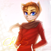 Collab: Chris by LeilaBC