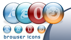 Browser Icons by Scully7491