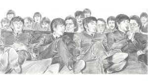 Beatles audience by mozer1a0x