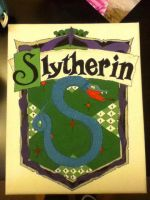 Slytherin Emblem by MoonProphecy