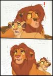 Simba knows when to be Professional. by Xx-JungleBeatz-xX