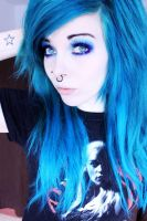 ira vampira blue hair game of thrones shirt by IraVampira88