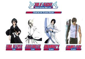 Bleach Character Classs Guide by defchef
