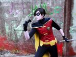Young justice - Robin cosplay by Firmily