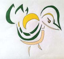 Snivy tribal design by Eothnoguy