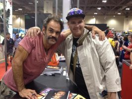 Me with GTA5's Steven Ogg (Trevor Philips) by X-Flame-Dancer-X