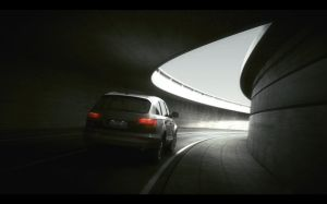 Audi Q7 tunnel by MUCK-ONE