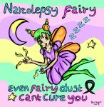 NARCOLEPSY FAIRY by Apey-Sleep
