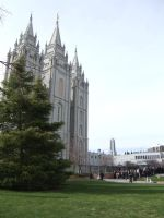 Temple Square 2010 by Zaphy1415926