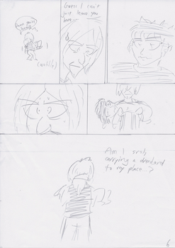 Unnamed Comic Page 6 Rough Draft (rescan) by C-Survive